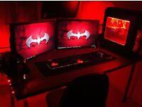 i5 Custom Gaming PC setup & keyboard and mouse - i5 3470 - GTX 770 - 8GB RAM - Windows 10 64 bit
