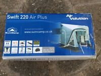 Air awning for sale only been up two days