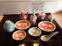 Selection of Chinese dishes