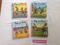 4 large Pip and Posy books