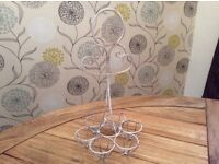 Wired traditional egg holder