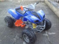 12v battery powered children's large quad bike, with brand new battery