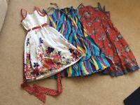 Summer dresses age 5yrs