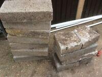 Dense concrete blocks .....free