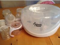 Seriliser unit with bottles as new condition £10