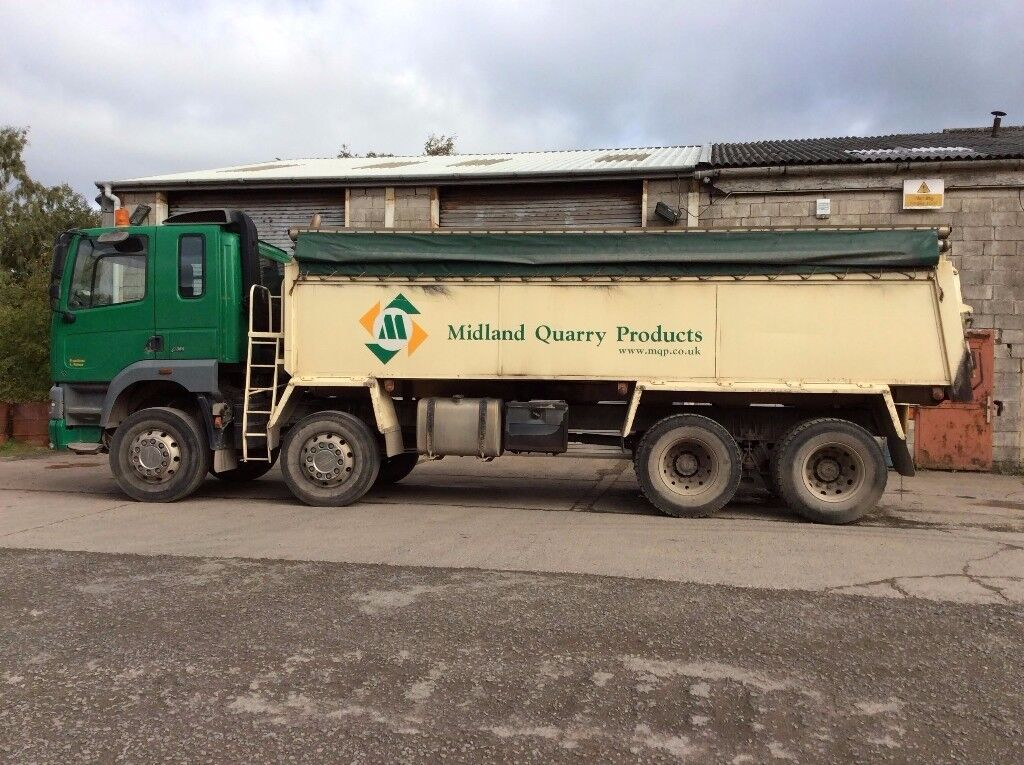 Foden Alpha Tipper Truck - 2006 - 1 Owner driver from new!