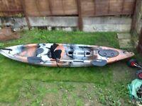 Qoroc adventurer one man sea Kayak,