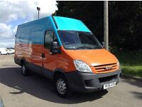 2006 iveco daily 2.3 hpi 35c14 mwb high roof 1 owner van only 140,000 miles