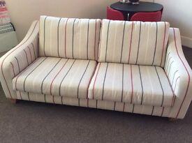 Next striped sofa