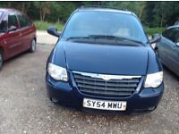 2004 CHRYSLER GRAND VOYAGER 2.8 DIESEL AUTOMATIC 7 SEATER FAMILY CAR OR WORK VEHICLE, GENUINE 81,000