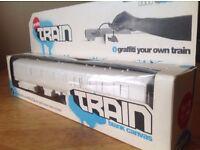 Canvas: Graffiti Train. Rare. NEW