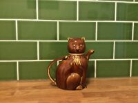 China Cat Teapot Rare and very collectable
