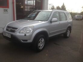 Honda CR-V SPORT 2.0 petrol,automatic 53 plate 127000 miles 1 lady owner from new FSH MOT ONE YEAR