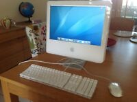 iMac 17 inch screen with keyboard and mouse Tiger 10.4 SW