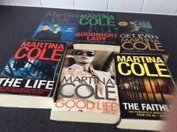 Selection of books by Martina Cole