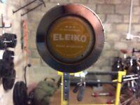 Eleiko Olympic Bar (15kg) and Eleiko Squat Stand