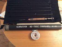 Greys Rod and Hardy Reel