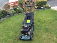 Admiral 16 ATCO Petrol Lawnmower. Push drive. Briggs&Stratton Quantum35 engine 16inch cut Very clean