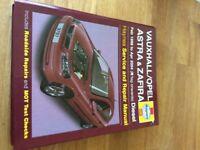Haynes manual Vauxhall Opel/Astra/zafira