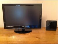 """Logik 24"""" digital colour TV with built in Freeview."""