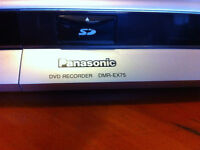 Panasonic DVD Recorder with Hard Drive and SD Card Slot
