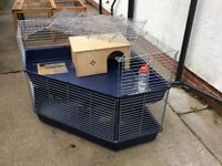 Rabbit and/or guinea pig indoor cage