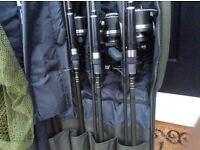 Carp set up quality gear. Delkim txi plus, shimano longcast, Nash , fox, greys prodigy.