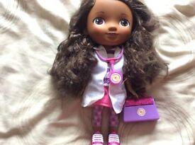 Disney store doc mcstuffin doll