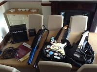 Adults and kids electric guitar and accesories