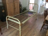 Rought iron children's bed