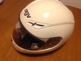 AGV Motor Cycle Helmet with cover and information booklet for sale