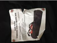 Buggy/pushchair/stroller carry bag. Used once. Perfect for airports or holidays