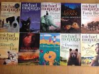 Michael Morpurgo 10 paperback books