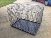 Extra large dog cage , possible free delivery