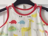 Two Mothercare baby sleeping bags