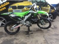 Kx 250 2 stroke hybrid in Kxf 250 2011 frame fresh build mint
