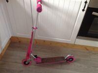 Ozbozz nebulus tx pink scooter