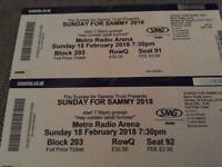 Sunday for sammy tickets