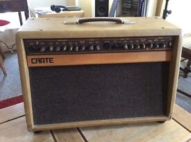 Acoustic Guitar / Instrument Amplifier Crate CA60D with 2-Switch Pedal