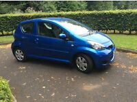 2009 TOYOTA AYGO BLUE EDITION 1.0 LOW MILEAGE 21k FSH 1 OWNER