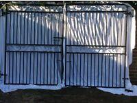 Pair of good quality wrought iron gates
