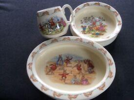 Vintage Original Bunnykins Breakfast Set 1959-1975