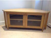 Ikea oak tv stand