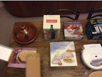 Collection of Kitchen Gadgets. Boxed and unused assortment of quality gadgets and utensils.