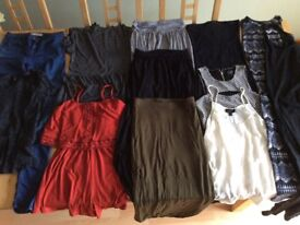 Top shop woman's / girl's bundle. Size 8. 12 items. Jeans, playsuit, skirts, tops, dresses.