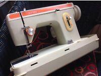 Jones zig zag sewing machine, working but bobbin winder broken
