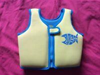 Zoggs swim vest age 2-3 years 15-18kg