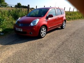Nissan note 1.6 automatic low mileage full service history long MOT