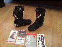 Sidi vertigo boots size 9