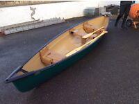 Canadian canoe. Coleman Explorer